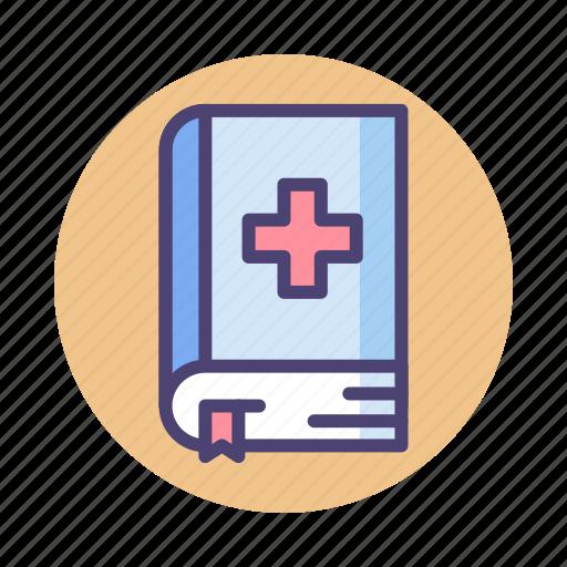 Book, medical, medical book icon - Download on Iconfinder