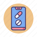 app, drugs, medical, pharmacy icon
