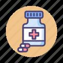 bottle, medication, medicine, pill, pills