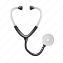 aid, care, healthcare, medical, stethoscope, stetoscope icon
