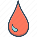 bank, blood, donation, drop icon