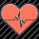 cardiology, diagnosis, ecg, heart, love, romance, valentine