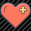 cardiology, healthcare, heart, love, romantic, valentine icon