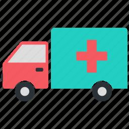 ambulance, car, emergency, medical icon icon