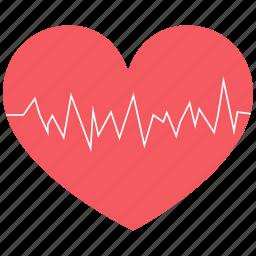 cardiogram, health, heart, medicine icon icon