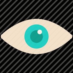 eye, eyes, watch icon icon