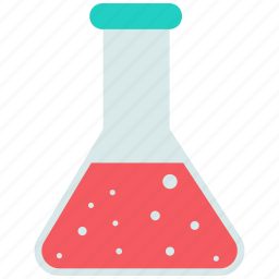 chemical, flask, liquid, science icon icon