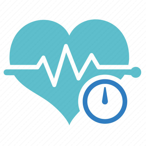 beat, emergency, heart, medical, rate icon