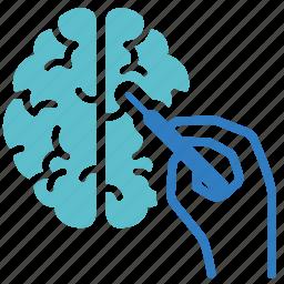 brain, eeg, medical, neurology, operation, phychiatry, surgery icon