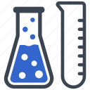 chemical, chemistry, experiment, formula, laboratory, labs, tubes icon