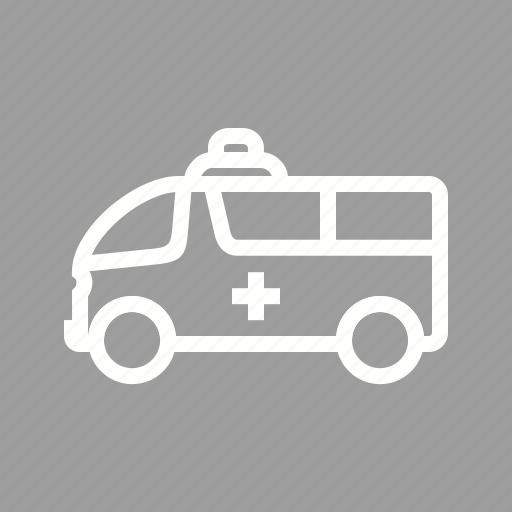 Ambulance, emergency, van, vehicle icon - Download on Iconfinder