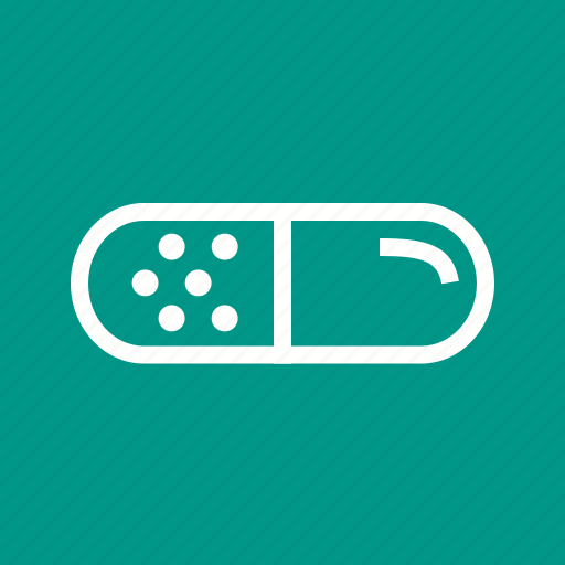 capsule, doze, medicine, tablet, treatment icon