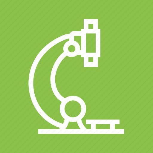 examination, lens, maximize, microscope, size icon