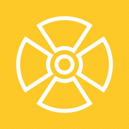 cancer, danger, radiation, zone icon