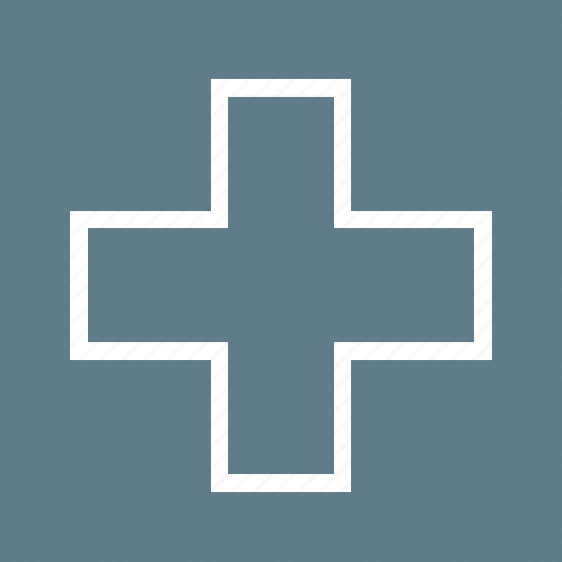 emergency, first aid, hospital, sign icon