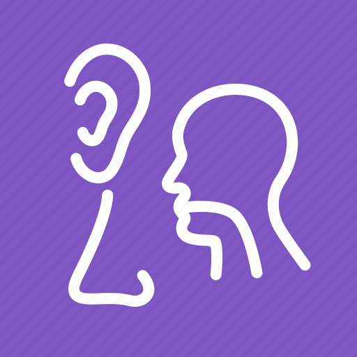 ear, ent, medical, nose, throat icon