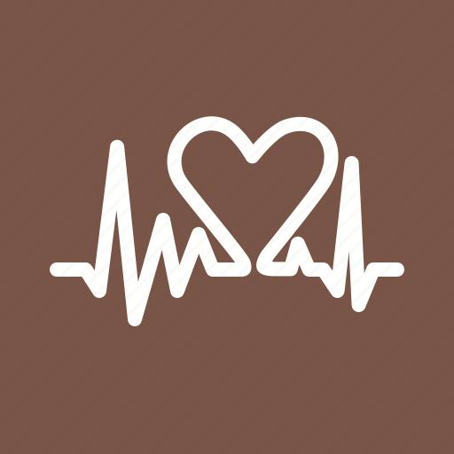 beat, heart, pulse, vibrate icon