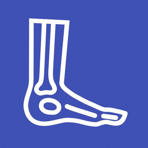 bones, foot, injury, ray, x icon