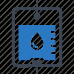 blood donation, medical, transfusion icon