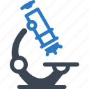 experiment, laboratory, microscope, research, science icon