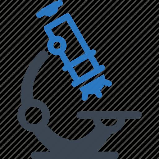 experiment, laboratory, microscope, research, science icon