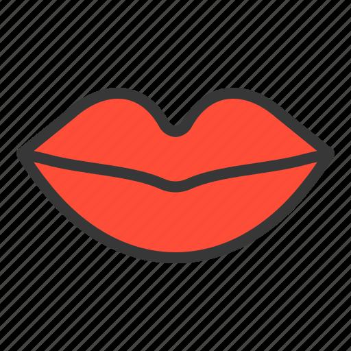anatomy, hospital, lip, medical, mouth, organ icon