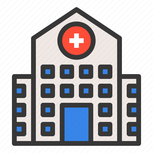 achitecture, building, clinic, construction, hospital, medical icon