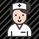 clinic, health, healthcare, hospital, medical, nurse, treatment icon