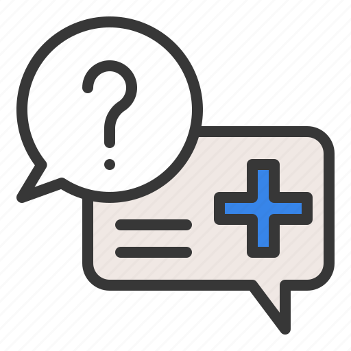 care, health, health question, hospital, medical, medical information, question icon