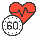 care, health, healthcare, heart rate, heart signal, hospital, medical icon