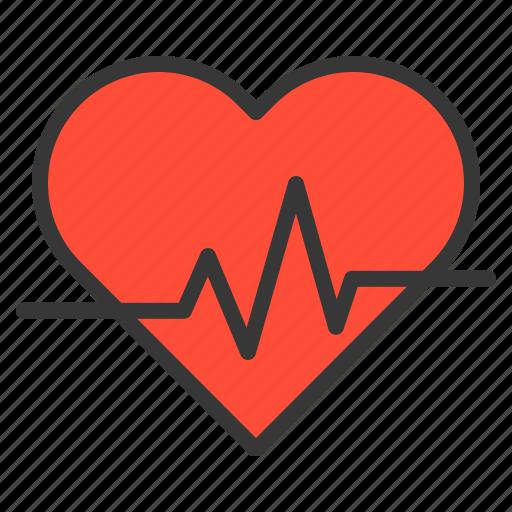 care, health, healthcare, heart rate, heart signal, hospital, medical icon