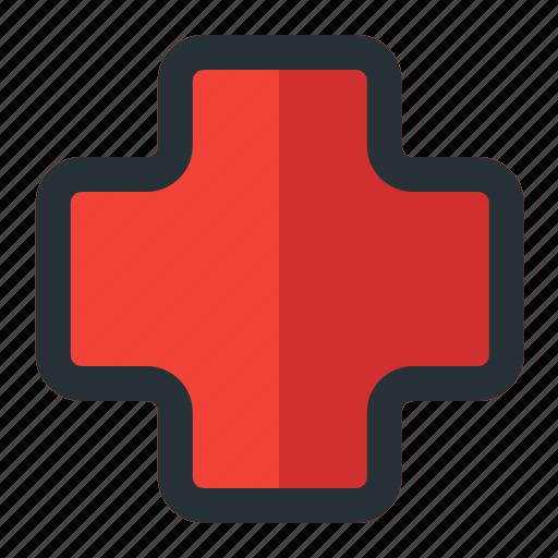 aid, first, health, hospital, medical icon