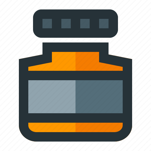 bottle, health, medical, pill icon