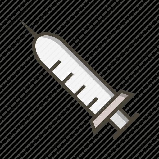 injection, syringe, treatment icon