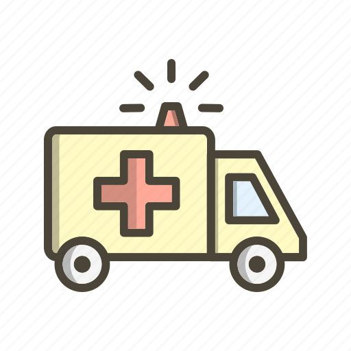 Ambulance, emergency, treatment icon - Download on Iconfinder
