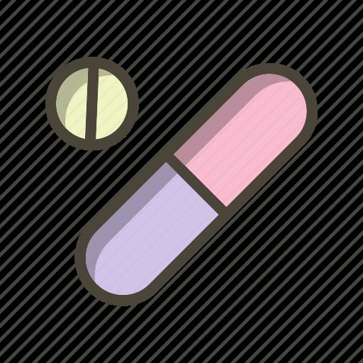 medicines, pharmacy, pills icon