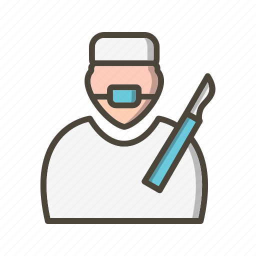 doctor, operation, surgeon icon