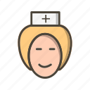 avatar, healthcare, nurse icon