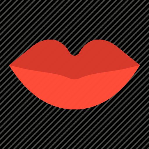 anatomy, healthcare, lip, medical, mouth, organ icon