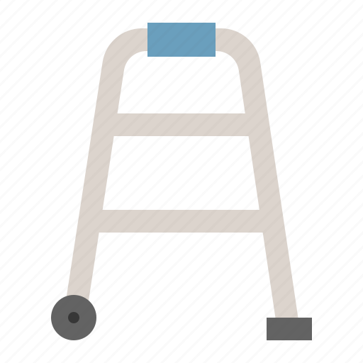 equipment, medical, physiotherapy, tool, walk, walker icon