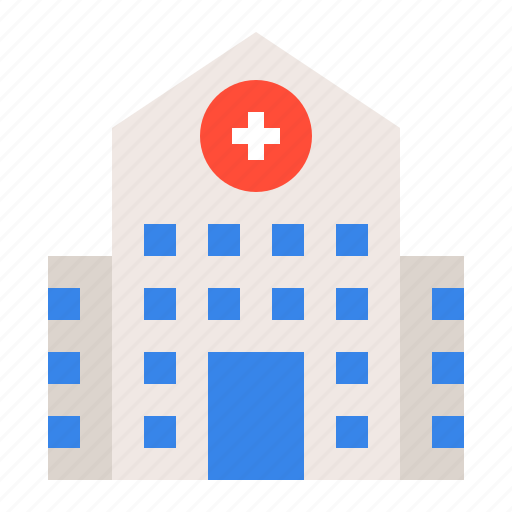 architecture, building, clinic, construction, hospital, medical icon