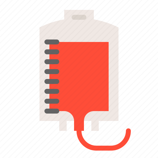 blood, blood bag, blood transfusion, hospital, medical, treatment icon