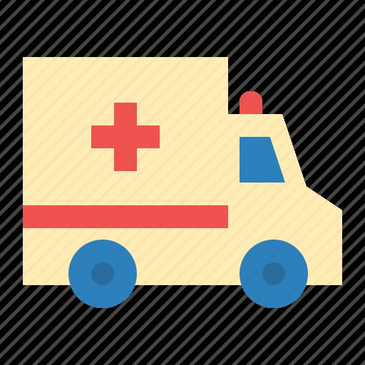 ambulance, car, emergency, medical, medicine icon
