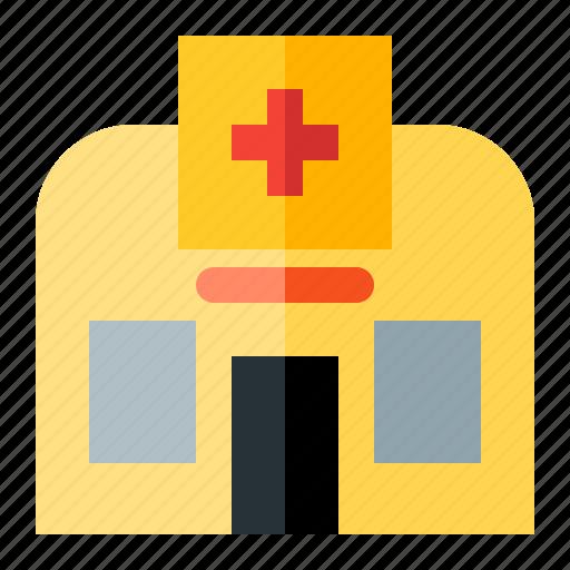 build, hospital, medical icon