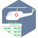 emergency, flight, medical, medical flight, medical rescue, paramedics, plane icon