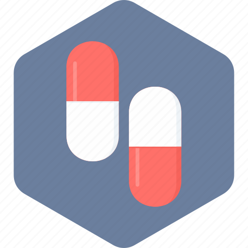 capsule, drug, medications, medicine, pill, pills icon