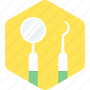 dental, dentistry, equipment, tools icon