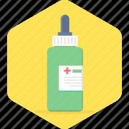 dropper, health, healthcare, medicine, syrup icon