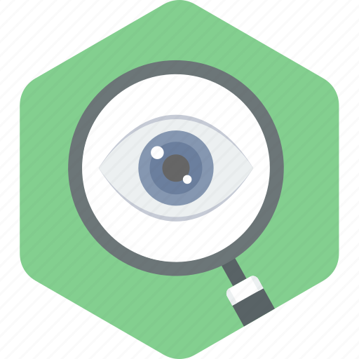 care, eye, test, view, vision icon
