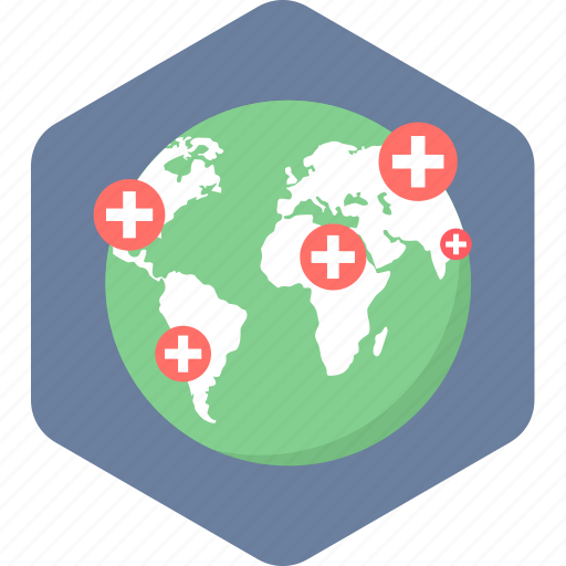 care, global, healthcare, hospital, medical icon
